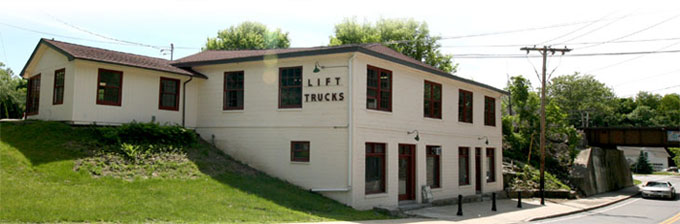 The Lift Trucks Project building in Croton Falls, NY.